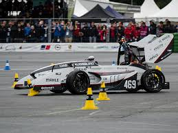 students race driverless cars germany formula student