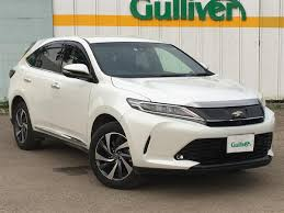 lexus harrier 2016 2017 toyota harrier used car for sale at gulliver new zealand
