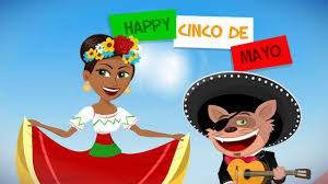 cartoon cinco de mayo funmoods cinco de mayo celebration animated card youtube