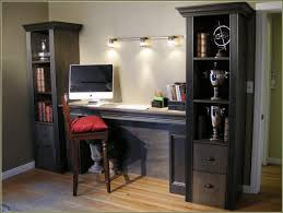 glass computer desk with file cabinet u2014 all home ideas and decor