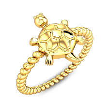 rings online gold images Oyster shell tortoise ring online jewellery shopping india jpg