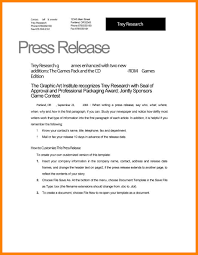100 news release template word press release template 20 free