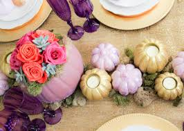 fall wedding centerpiece ideas purple purple fall wedding themes