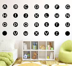 Alphabet Wall Decals For Nursery by Compare Prices On Alphabet Wall Stickers Online Shopping Buy Low