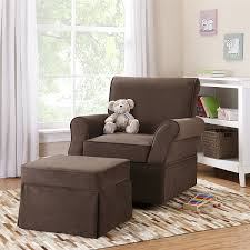 Microfiber Swivel Chair by Amazon Com Baby Relax Kelcie Swivel Glider And Ottoman Comet