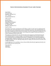 Cover Letter Examples Administrative Assistant Good Cover Letter For Executive Assistant