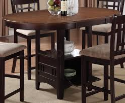 light oak pub table hudson light oak and espresso counter height table new kitchen