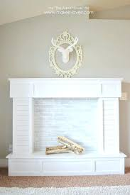 candle fireplace mantle faux mantel diy ideas pinterest diy fake