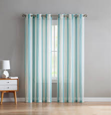 2 Tone Curtains Vcny Home 2 Tone Semi Opaque Linen Curtains Set Of 2