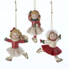 skater ornaments 3 assorted kurt s adler