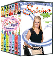 amazon com sabrina the teenage witch the complete series