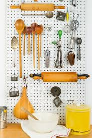pegboard kitchen ideas home organization organizing ideas for your home