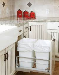 Kitchen Cupboard Garbage Bins by Stunning Trash Cabinet Plastic Boxes Aluminum Steel Recycle