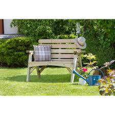 zest abbey 2 seater bench garden furniture from garden store