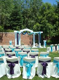How To Decorate A Backyard Wedding Backyard Wedding Tables Home Outdoor Decoration