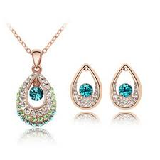 gold set in pakistan 18k gold platted indian set price in pakistan afreen collection