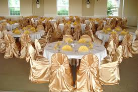 gold chair covers dreams black gold chagne satin chair covers tie back
