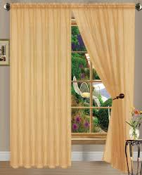 amazon com gold linda sheer voile panel curtain drape 55 inches amazon com gold linda sheer voile panel curtain drape 55 inches wide x 84 inches long one panel per package home kitchen