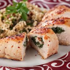 cuisiner des blancs de poulet recette blancs de poulet farcis aux épinards et à la mozzarella