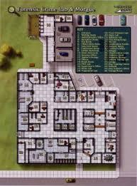 Police Station Floor Plan 1336821440137 Jpg 995 1361 Shadowrun Online Rpg Resouces