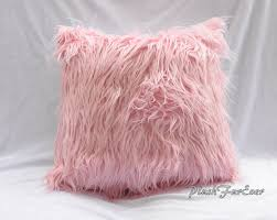 home decor pillows faux fur home decor pillows 18 x 18 inserts