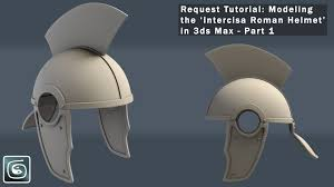 3dsmax modeling u0027intercisa roman helmet u0027 tutorial part 1 request