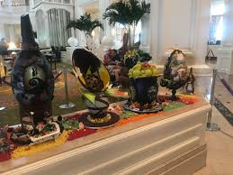 easter egg display chocolate easter egg display at the grand floridian walt disney
