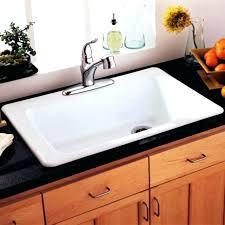 Stainless Steel Farm Sinks For Kitchens Kohler Stainless Steel Farmhouse Sink Vault Top Mount Single Bowl