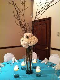 wedding reception centerpieces branches cheap flower centerpiece