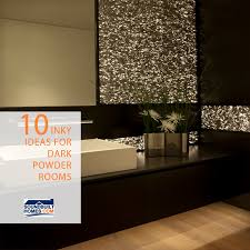 dark powder rooms for new homes and diy bathroom projects