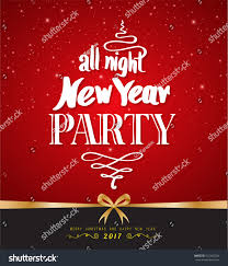 all night new year party design stock vector 532425784 shutterstock