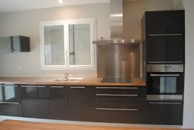 cuisine gris laqué étourdissant cuisine gris laqué avec cuisine taupe et bois photos