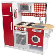 kinderküche kidkraft kidkraft chefkoch kinderküche rot weiß mit waschmaschine