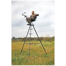 x stand express 13 u0027 portable tripod deer stand 663964 tower