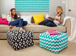 College Bathroom Decor Calm Dorm Room Decorating Ideas With Blue Zigzag Motif And Black