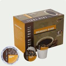 Blend K Cups Caza Trail Breakfast Blend Coffee Single Serve Cups K Cup