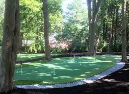 putting greens backyard golf green photos image on astounding