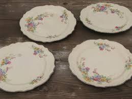 homer laughlin patterns virginia homer laughlin virginia floral bouquet plates lot 40s vintage
