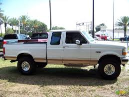 Ford F150 Truck 1995 - 1995 ford f150 eddie bauer extended cab in oxford white photo 4