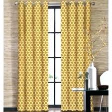 yellow patterned curtains large size of coffee yellow sheer