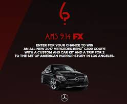 mercedes giveaway win a trip for 2 to la a 2017 c300c mercedes more from the