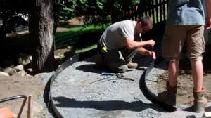 How To Install A Paver How To Build A Walkway Youtube