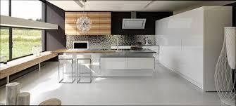 cuisine contemporaine blanche et bois cuisine bois cuisine moderne blanche bois