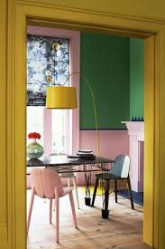 yellow green pink places u0026 spaces pinterest interiors