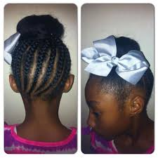 howtododoughnut plait in hair braids up to a donut with bow hairstyle kids hairstyles