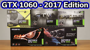 black friday 1060 gtx amazon which gtx 1060 should you buy 2017 edition youtube