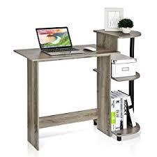 Computer Desk Amazon by Amazon Com Furinno 11192ex Bk Efficient Computer Desk Espresso