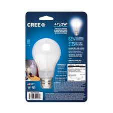 Led Light Bulb Dimmer by Cree 60w Equivalent Daylight 5000k A19 Dimmable Led Light Bulb