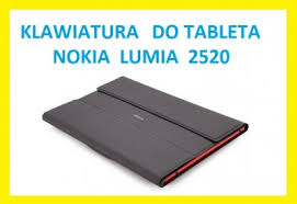 nokia su 42 etui klawiatura do tableta nokia lumia 2520 su 42 6223520297