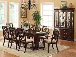 cherry wood dining table and chairs ethan allen dining room sets